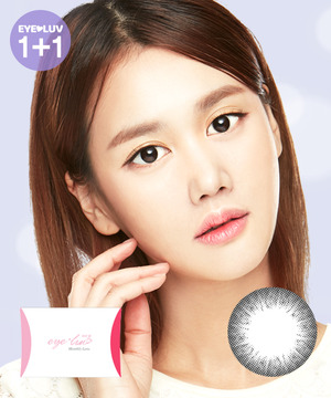 아이럽 참이2 블랙M(1month/2ea)♥1+1=2P♥1tone color lens