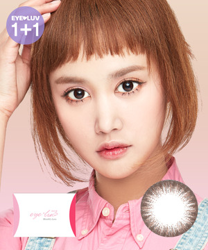 아이럽 노을2 초코M(1month/2ea)♥1+1=2P♥2tone color lens