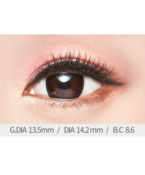 아이럽 다솜2 블랙B(1month/2ea)♥1+1=2P♥1tone color lens