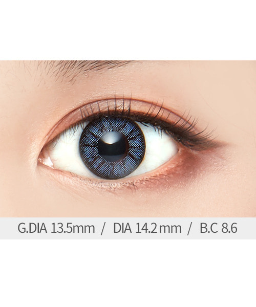 아이럽 소미2 블루B(1month/2ea)♥1+1=2P♥2tone color lens